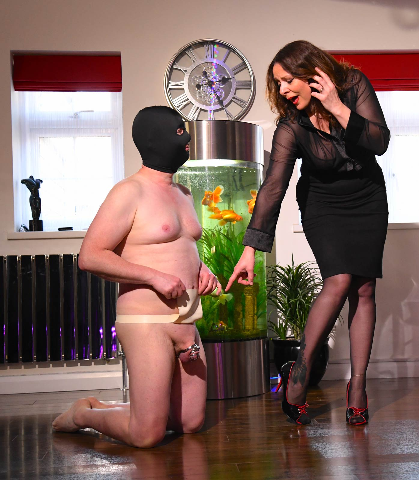 CFNM sessions with Miss DeLaVere