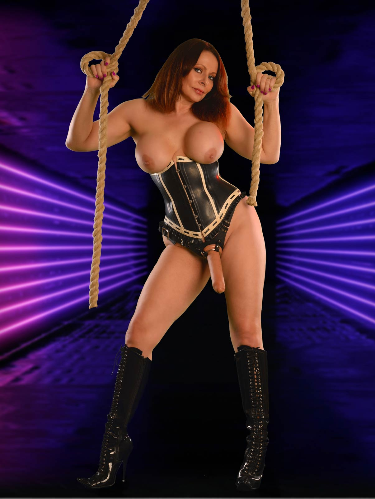 Strap-On Humiliation with Miss DeLaVere