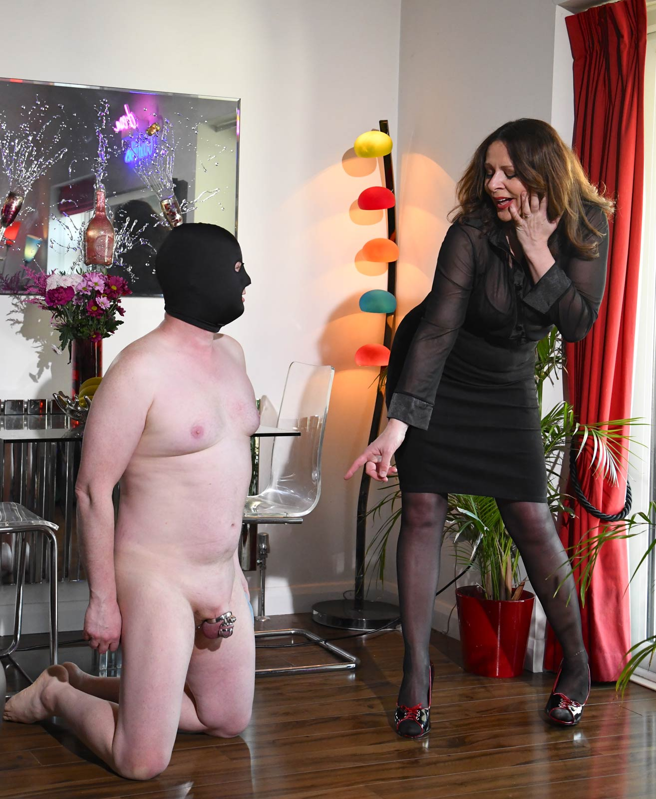 Miss DeLaVere   Cock And Ball Torture Sessions Available
